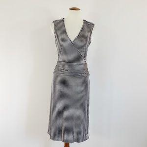 Tory Burch Silk Wrap Ruched Waist Dress